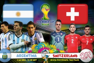 Argentina vs. Switzerland