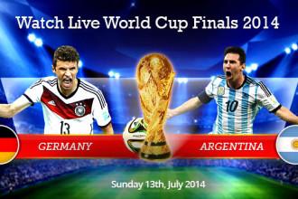 Germany vs Argentina Live Online