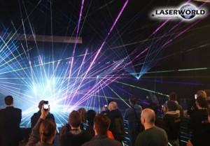 Laserworld laser show