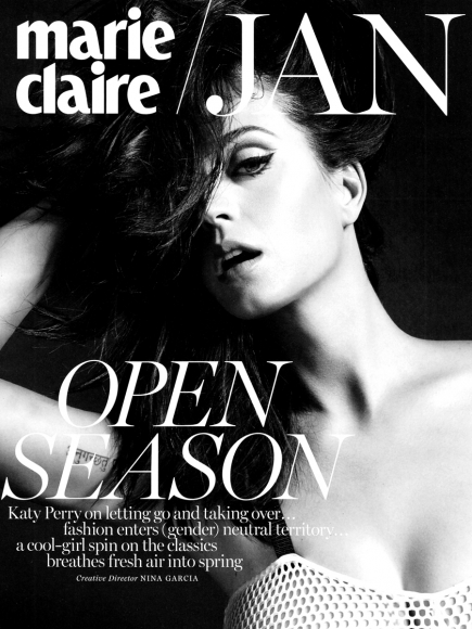 Katy Perry Photos in Marie Claire Magazine